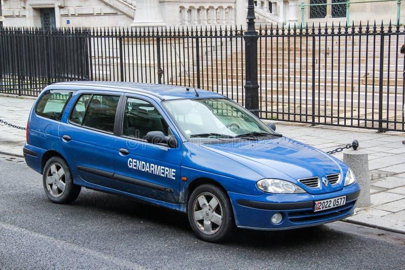 Renault Megane royalty-vrije stock afbeeldingen