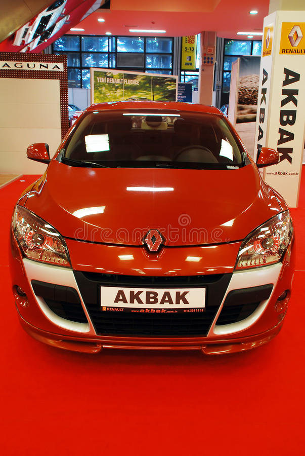 Download Renault Megane Coupe editorial stock photo. Image of displayed - 14856438