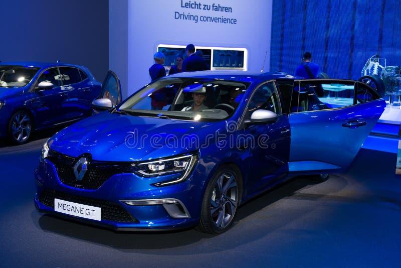 Renault Megane GT - Weltpremiere stockfotos