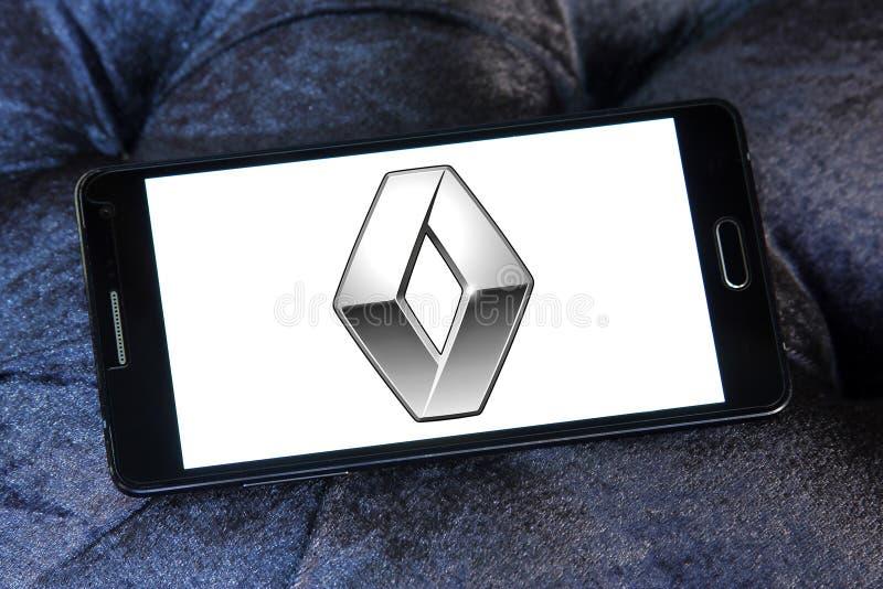 Renault samochodu logo obrazy royalty free