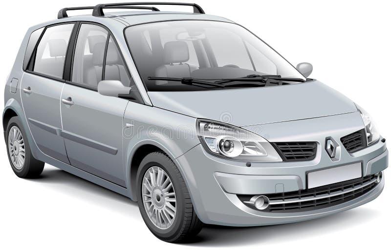 Renault Scenic II ilustração stock