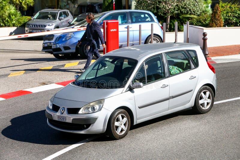Renault Scenic στοκ εικόνα