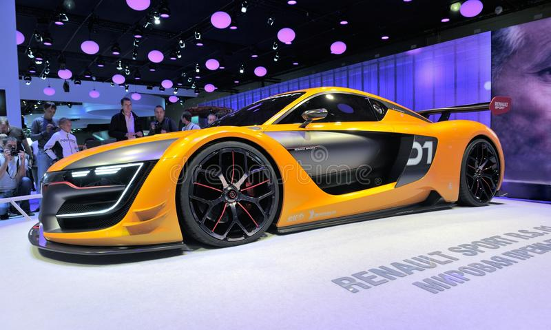 Renault sport R.S. 01 stock photography