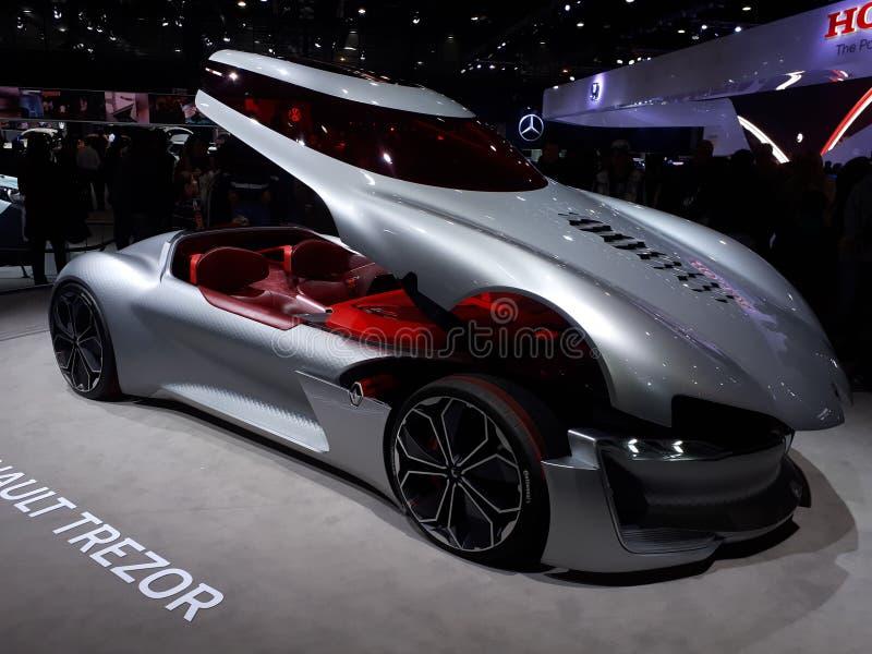 Renault Trezor στοκ φωτογραφία