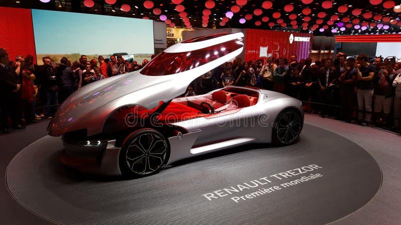 Renault Trezor Paris immagine stock libera da diritti
