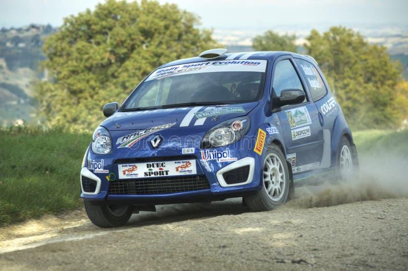 Renault Twingo rally car