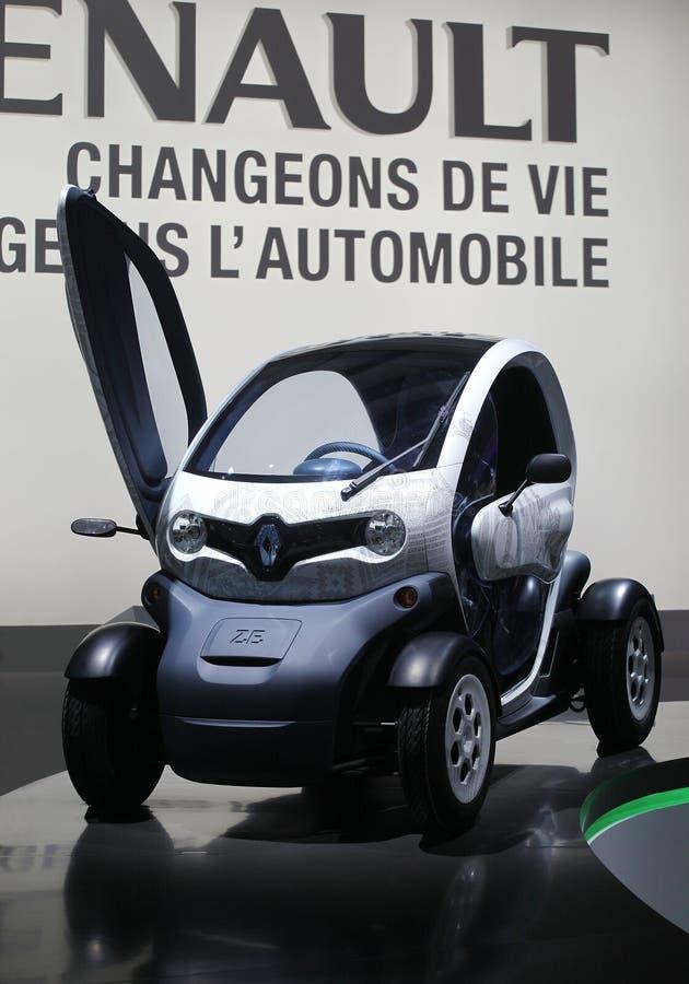 Renault twizy image stock
