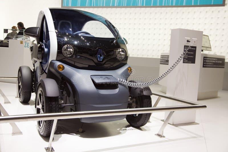 Renault twizy στοκ φωτογραφίες με δικαίωμα ελεύθερης χρήσης