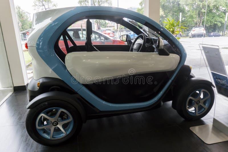 Renault Twizy Electric Car stock foto's