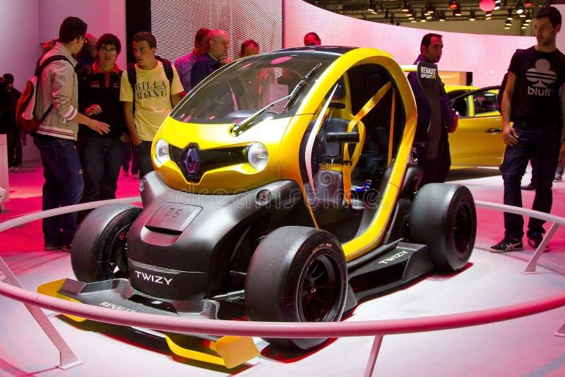 Renault Twizy Sport F1 stock afbeeldingen
