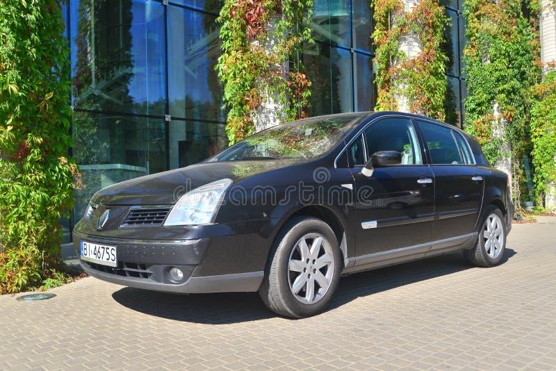 Renault Velsatis parkerade royaltyfri foto