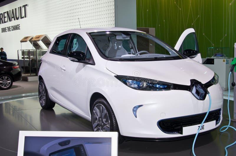 Download Renault Zoe editorial image. Image of motorshow, 2012 - 26622205