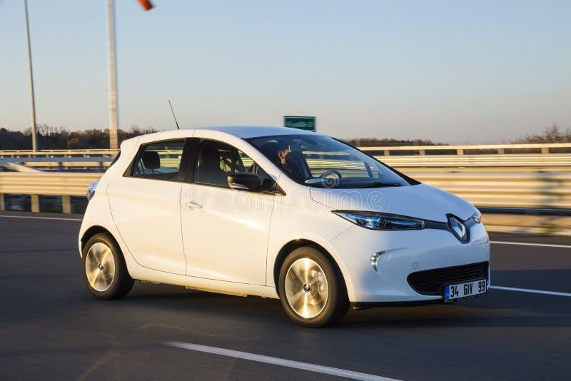 Renault Zoe photo libre de droits