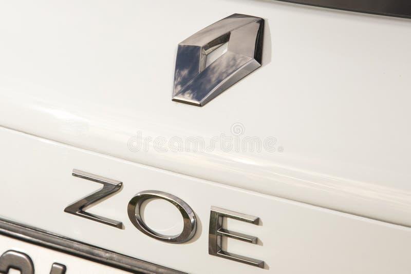 Renault Zoe photo stock