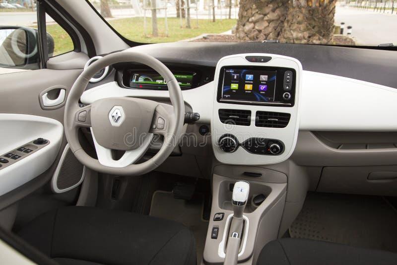Renault Zoe images stock