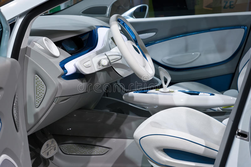 Download Renault Zoe Interior Editorial Stock Photo - Image: 19273128