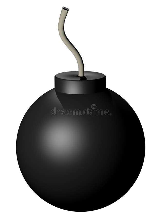 Renda a bomba ilustração royalty free