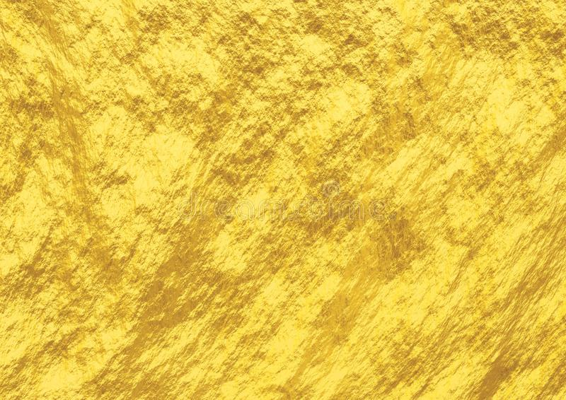 Renda o fundo ou a textura do ouro 3d Foto conservada em estoque foto de stock royalty free