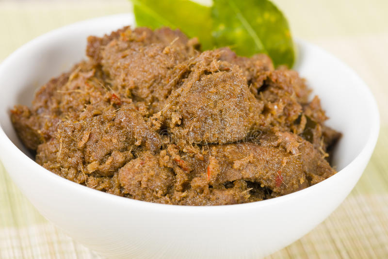 Download Rendang Daging stock image. Image of beef, chopsticks - 29940025