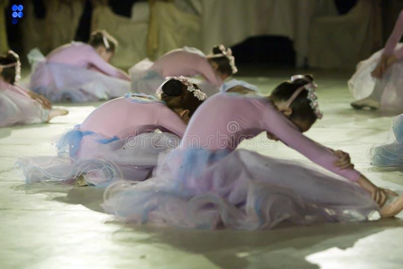 Rendement de ballet à la bille de Vienne à Bucarest images libres de droits