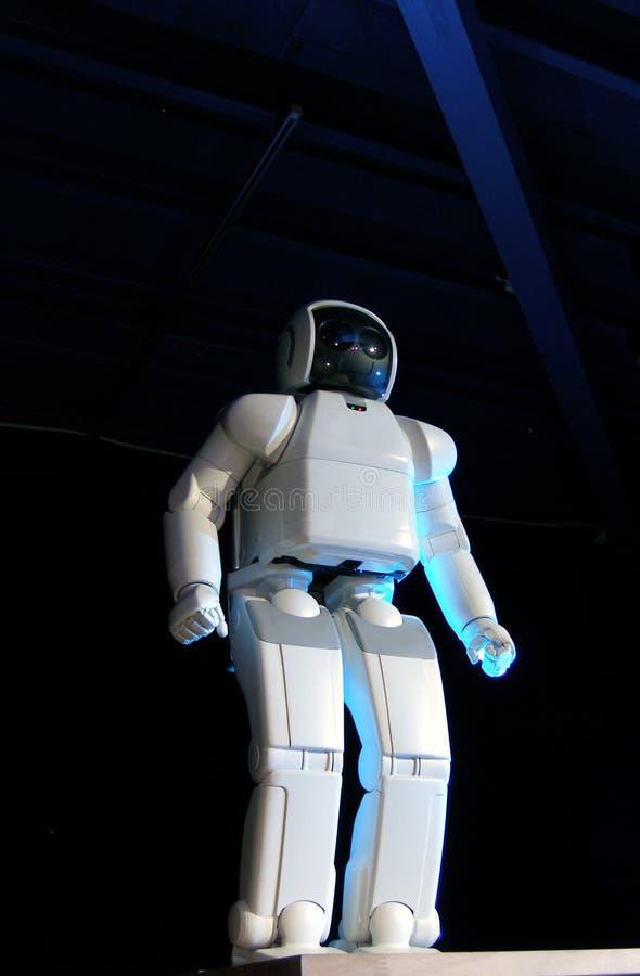 Rendement de robot d'Asimo images libres de droits