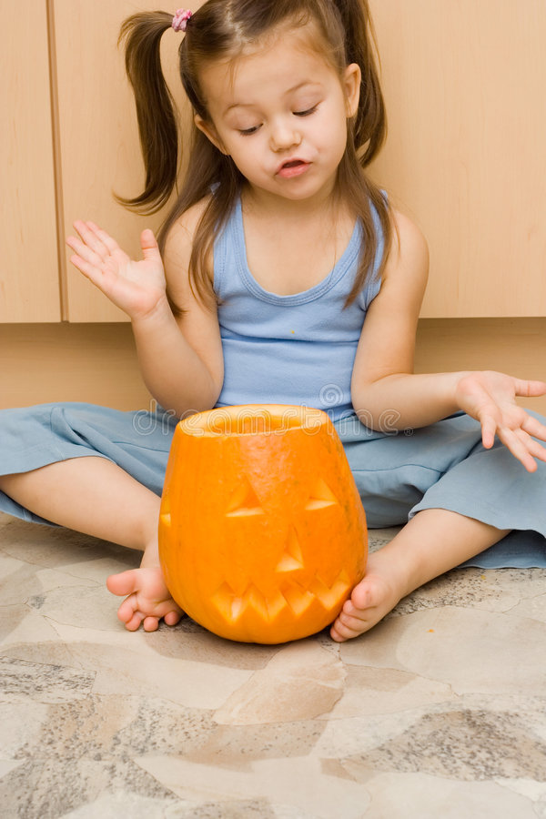 Rendendo Halloween latern fotografia stock libera da diritti