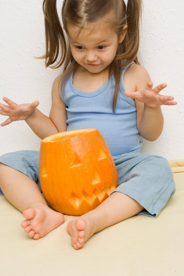 Rendendo Halloween latern immagine stock libera da diritti