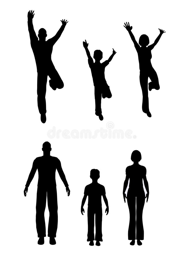 Render family royalty free illustration