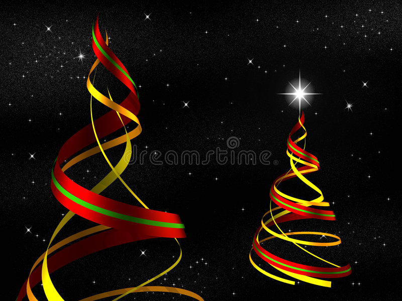 Download Render tree stock illustration. Image of ribbon, icon - 7162715