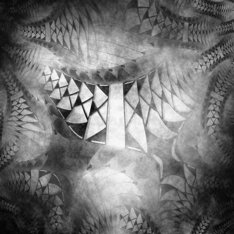 Rendered fractal , grunge texture stock images