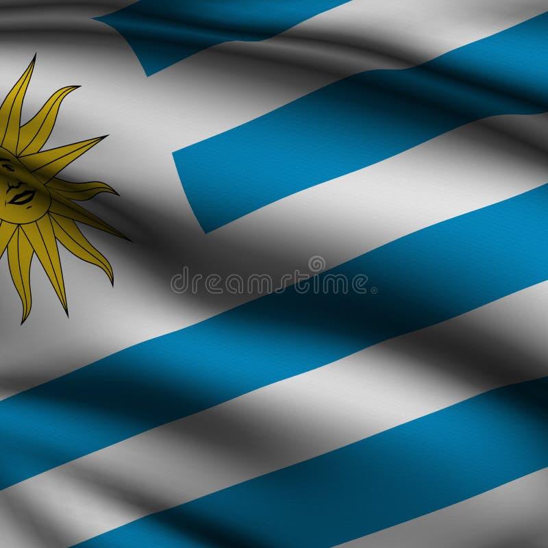 Download Rendered Uruguayan Square Flag Stock Illustration - Image: 6469397