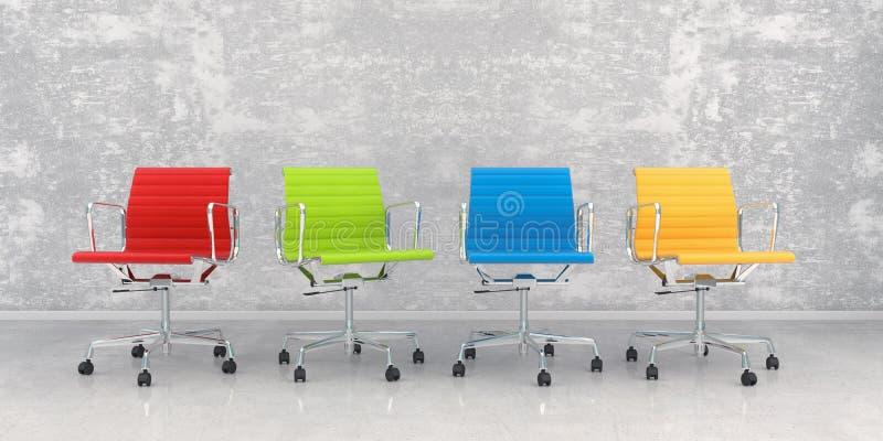 renderização 3d - saguão de negócios fotos de stock royalty free
