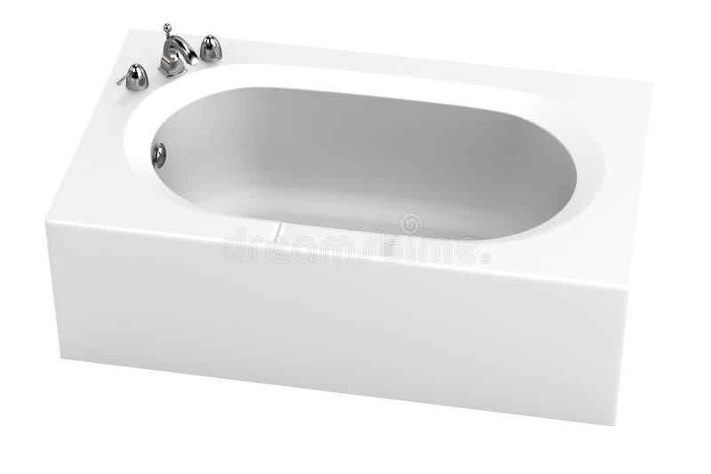 rendez de la baignoire illustration stock