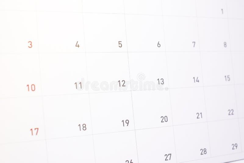 Rendez-vous de l'information sur la liste de calendrier à do/event en 2018 photos libres de droits