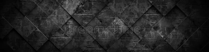 Rendição 3D escura extra do fundo (cabeça do Web site) ilustração royalty free