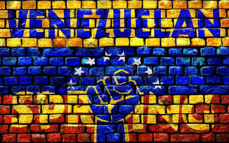 rendição 3D para a mola venezuelana ilustração do vetor