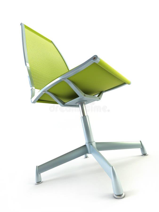 Rendição da cadeira 3d do escritório ilustração stock