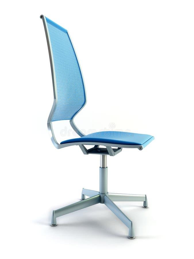 Rendição da cadeira 3d do escritório ilustração royalty free