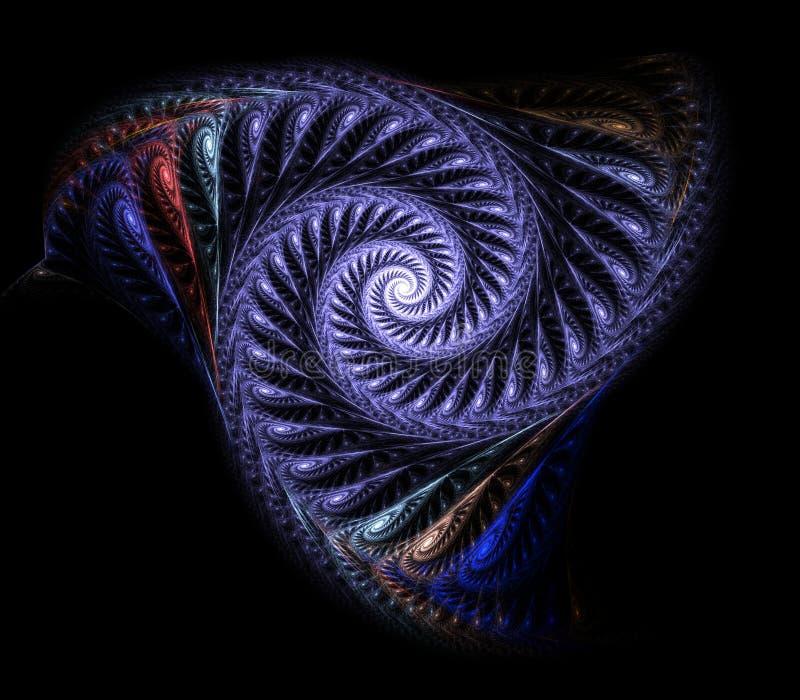 Rendição fina do fractal fotografia de stock