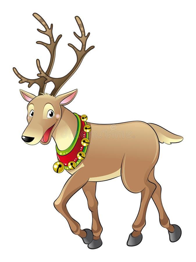 Rendier Voor Kerstmis Stock Fotografie