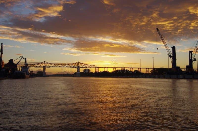 Rendsburg-Brücke lizenzfreie stockfotografie