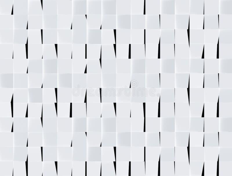 rendu 3D de fond abstrait Fond rectangulaire illustration libre de droits