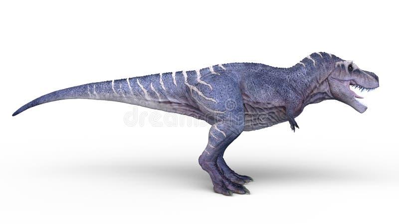 rendu de 3D CG. des dinosaures illustration libre de droits