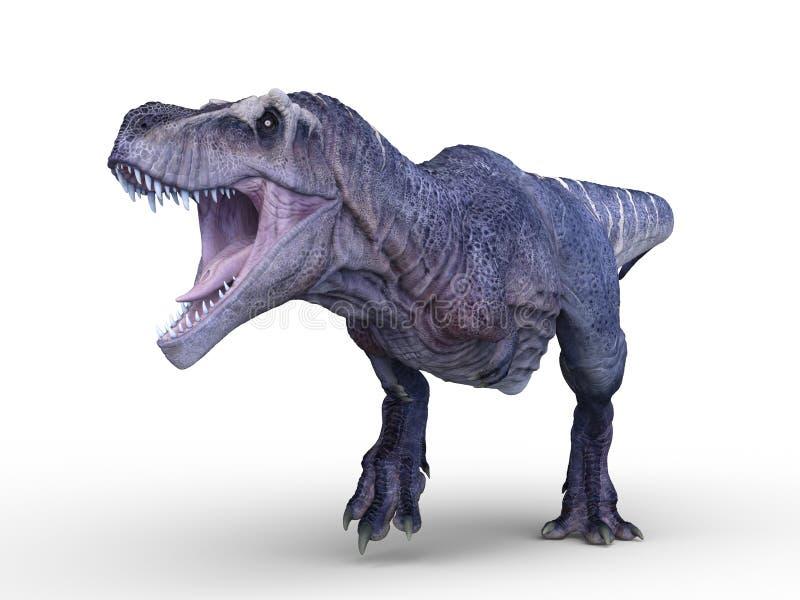 rendu de 3D CG. des dinosaures illustration de vecteur