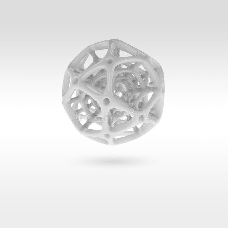 Rendu de la sphère abstraite illustration stock
