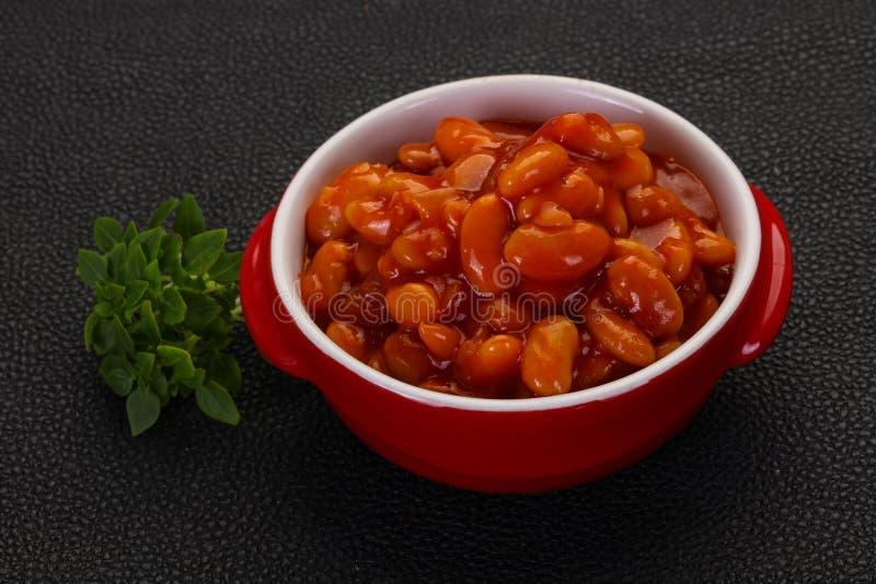 Rene al forno con salsa al pomodoro immagini stock