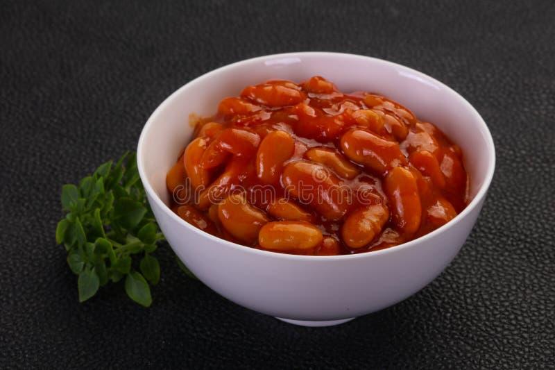 Rene al forno con salsa al pomodoro immagine stock libera da diritti