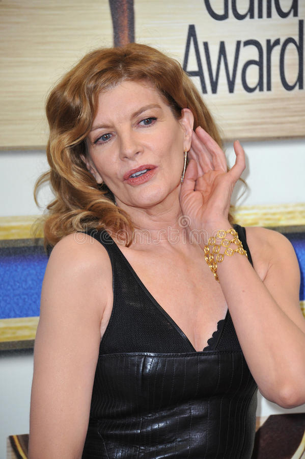 Rene Russo photographie stock