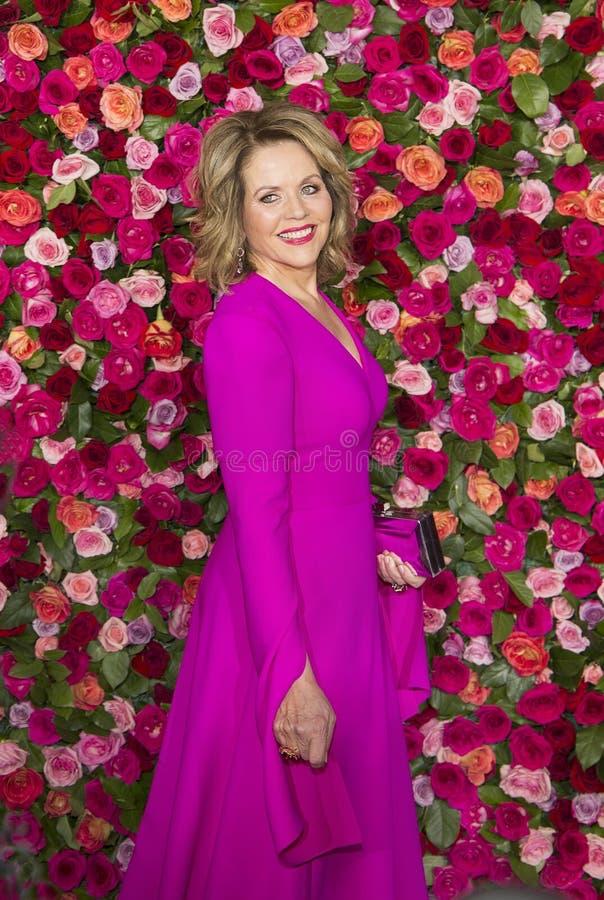 Renee Fleming на 2018 премиях Тони стоковые фото
