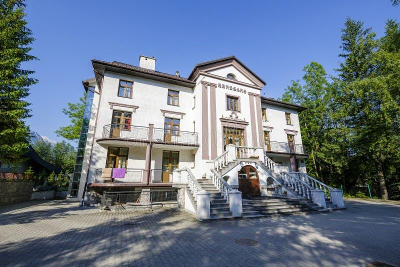 Renesans названное пансионом в Zakopane стоковые фотографии rf